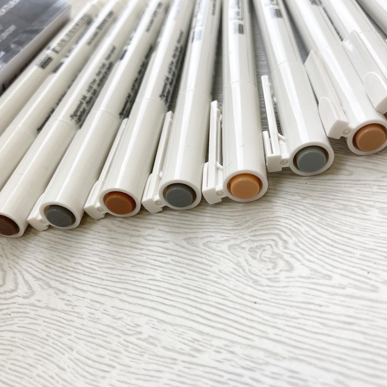 Набор маркеров для скетчей Архитектура