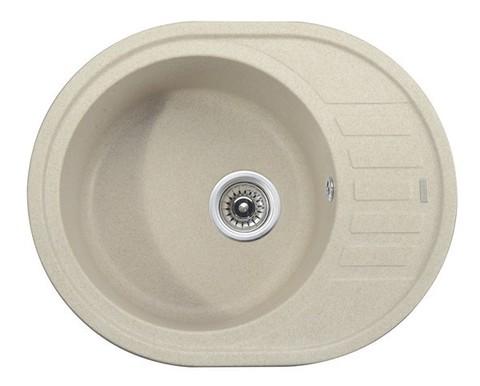 Кухонная гранитная мойка Kaiser KGMO-6250-S песочный