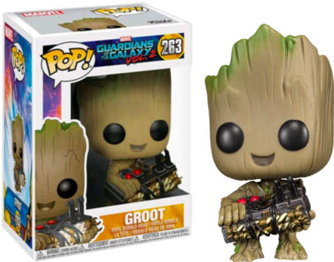 Фигурка Funko Pop! Marvel: Guardians of the Galaxy Vol. 2 - Groot (Excl. to Toys R Us)