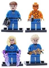 Minifigures Super Heroes Fantastic Four Blocks Building