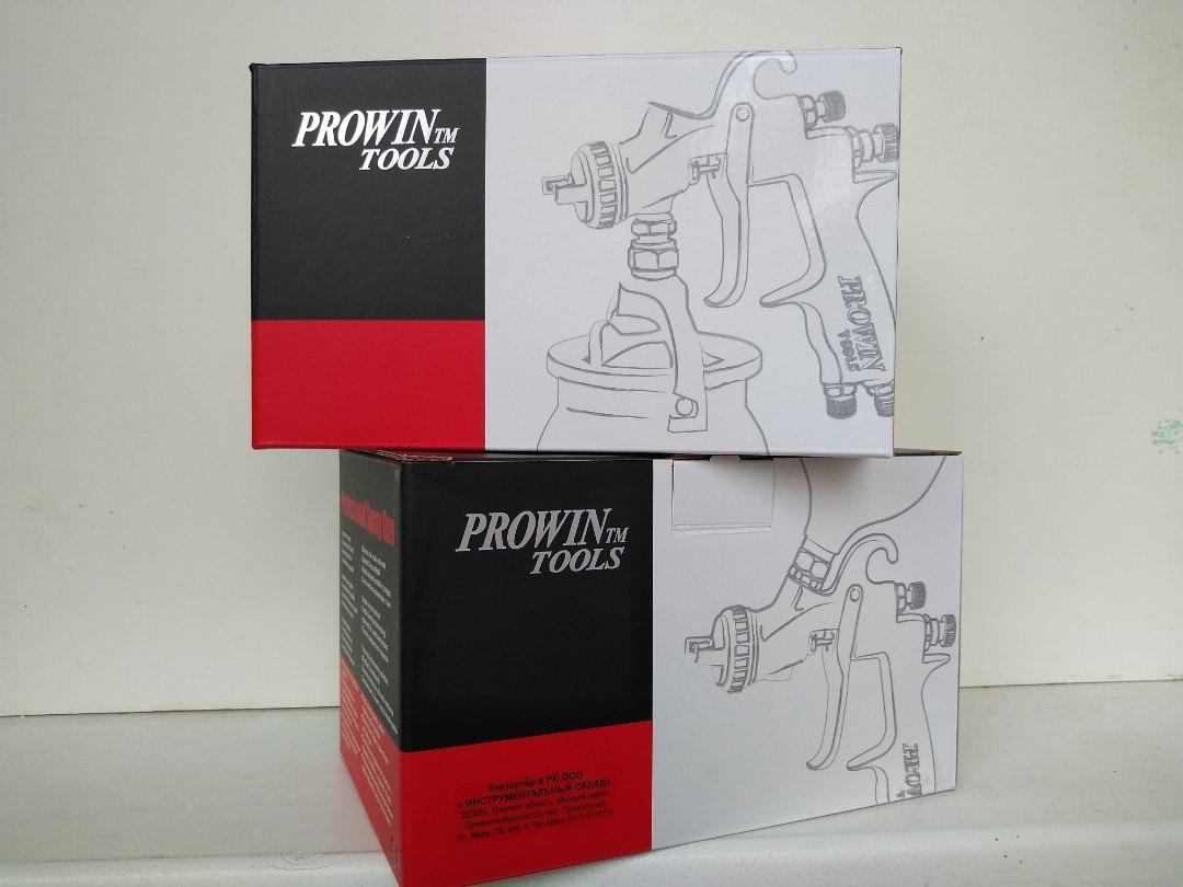 Краскопульт Prowin KL-410M-14 (LVLP), коробка