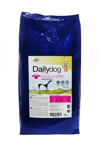 Сухой корм DailyDog Adult Large Breed lamb and rice для взрослых собак крупных пород с ягненком и рисом 12 кг