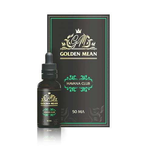 Жидкость Golden Mean 50 мл Havana Club