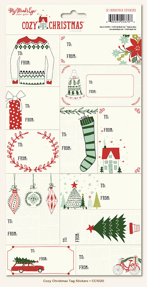 Стикеры Cozy Christmas