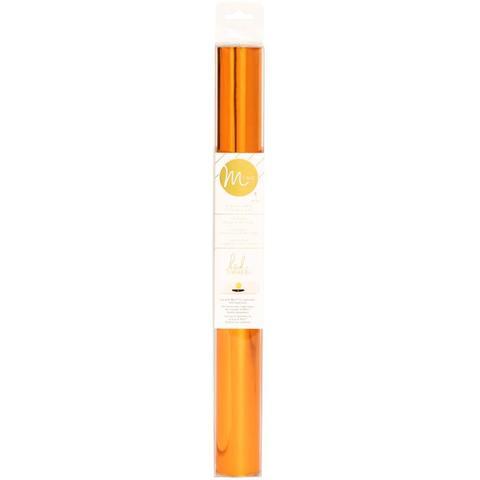 Тонерочувствительная фольга для MINC от Heidi Swapp- Orange 10' Roll
