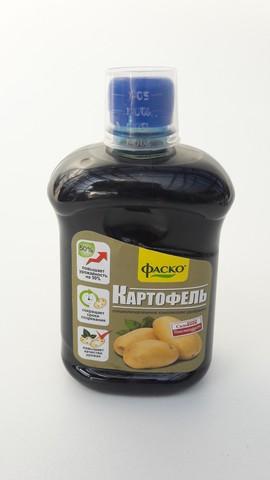 Удобрение органоминеральное жидкое Фаско для картофеля, 0,5л