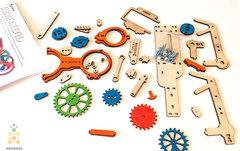 Двигатель (M-WOOD) - Деревянный конструктор 3D пазл, сборная модель
