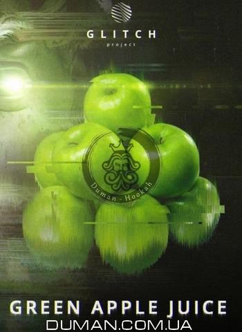 Табак Glitch Green Apple Juice (Глитч Яблоко)