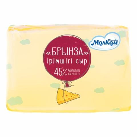 Сыр БРЫНЗА 45% в/у Молком КАЗАХСТАН