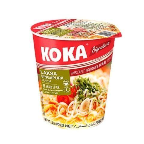Сингапурская лапша со вкусом Лаксы KOKA, 75 г