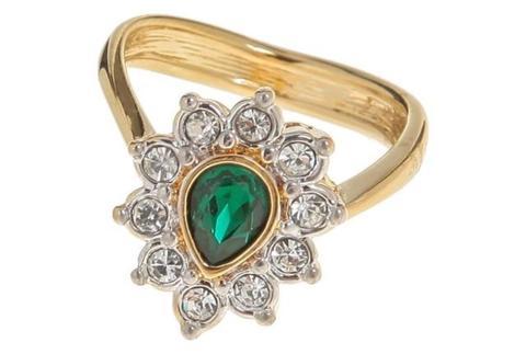 Кольцо с позолотой Тионель