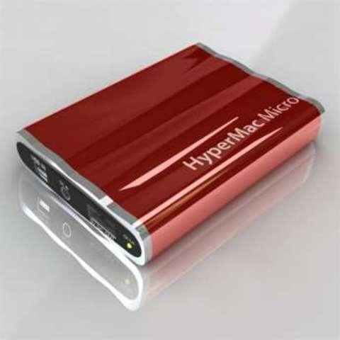 HyperMac Micro 3600mAh – внешняя батарея для iPhone/iPod (Red)