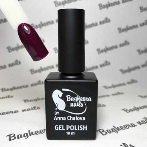 Bagheera Nails BN-46 сливовый, холодный оттенок 10 мл