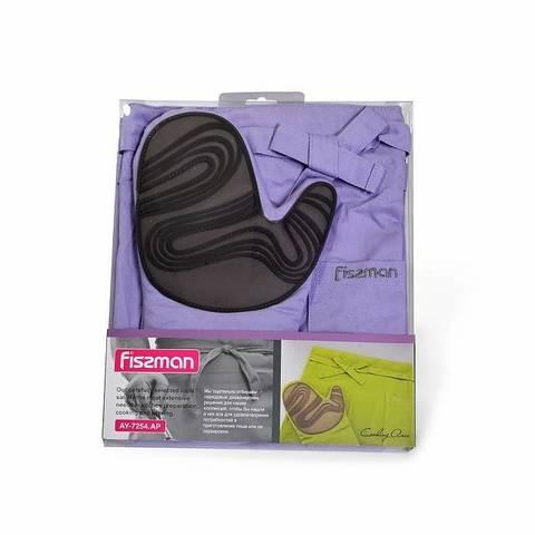7254 FISSMAN Фартук и рукавица-прихватка,  купить