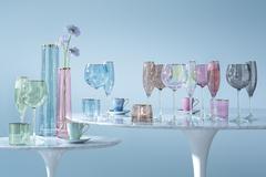 Набор из 2 бокалов-флейт для шампанского Sorbet, 225 мл, розовый, фото 3
