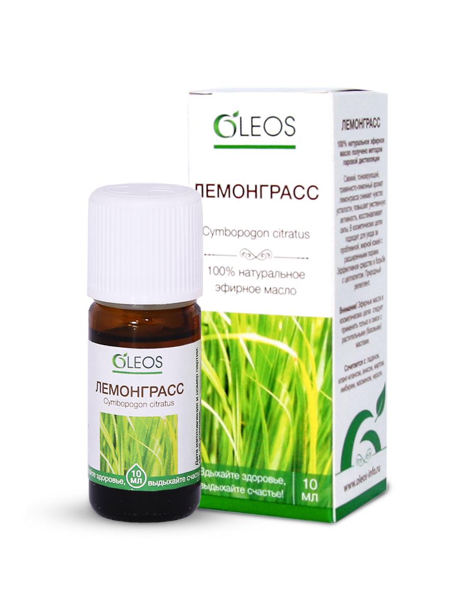 Эфирное масло Лемонграсс Oleos