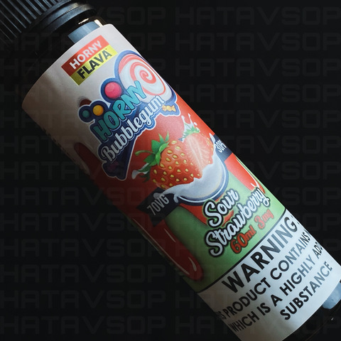 Sour Strawberry by HORNY Bubblegum