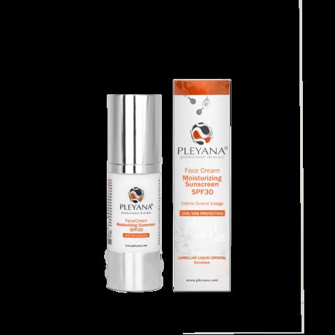 PLEYANA   Солнцезащитный увлажняющий крем для лица СПФ30 / Face cream moisturizing sunscreen SPF30