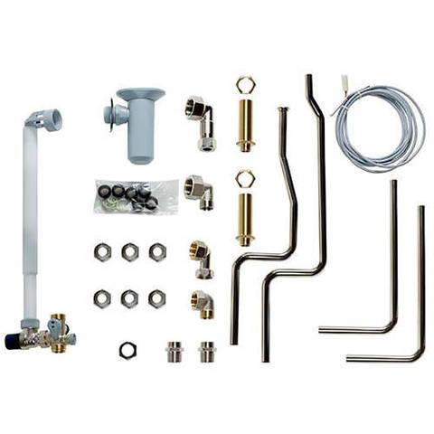 Vaillant Комплект подключения (eco/atmo/turbo TEC) к VIH R 120 включая группу безопасности (открытый монтаж) Ёмкостные водонагреватели