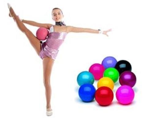 Купити м'ячі для занять художньою гімнастикою