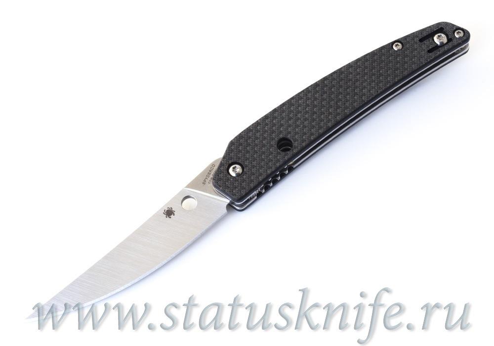 Нож Spyderco C242CFP Ikuchi CF