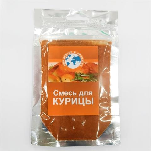 Приправа МИР ВКУСОВ И АРОМАТОВ Смесь д/курицы 80 г РОССИЯ