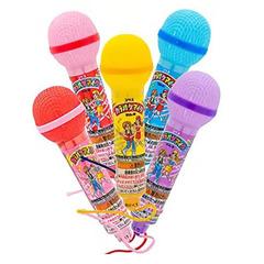 Караоке-микрофон Coris с шипучими содовыми конфетами