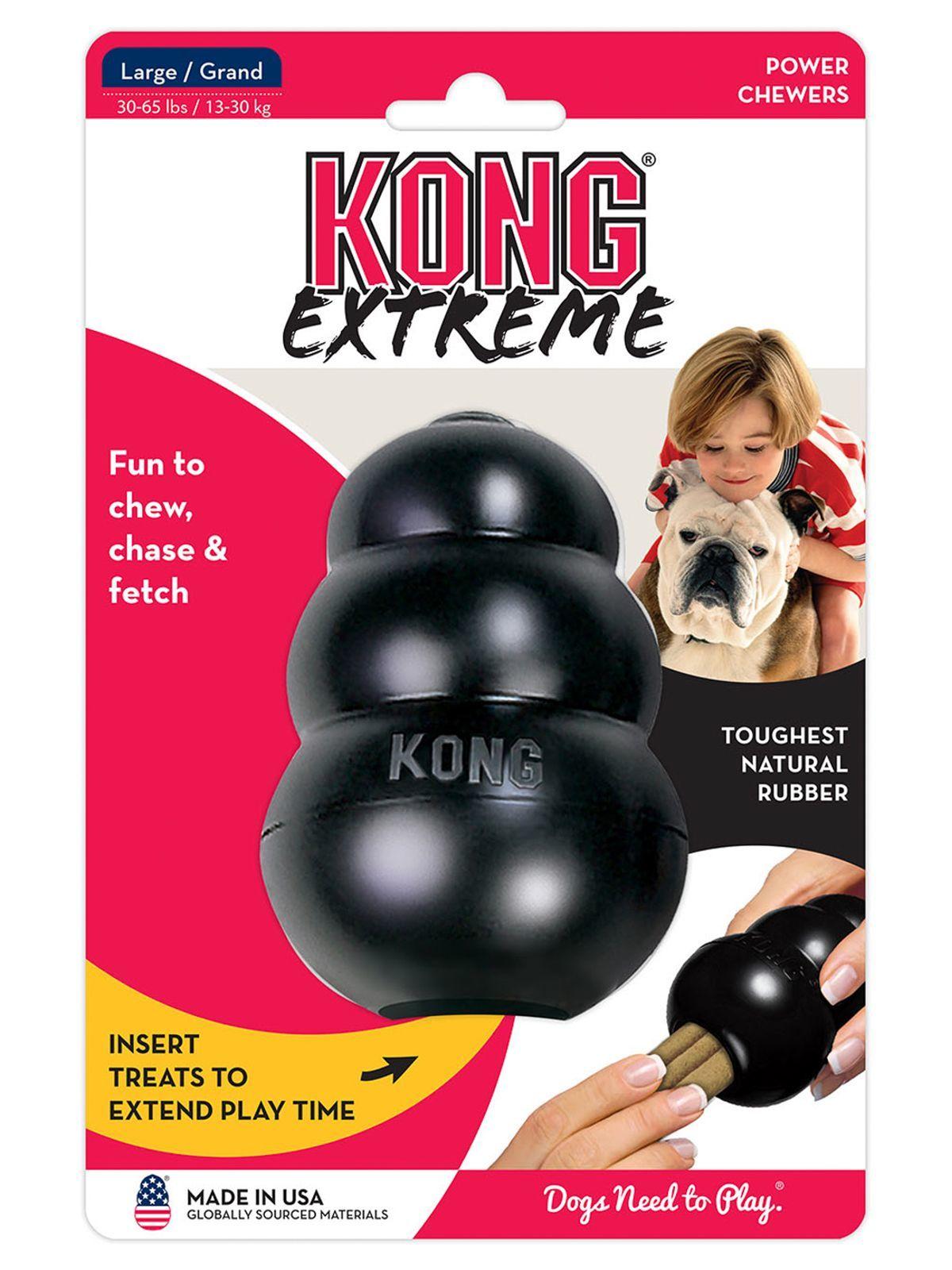 Игрушки Игрушка для собак KONG Extreme L очень прочная большая 10х6 см K1_1.jpeg