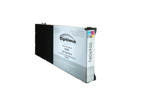 Картридж Optima для Epson C13T606900 Light Light Black 220 мл