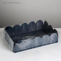 Коробка подарочная с PVC-крышкой Present for you, 20 × 30 × 8 см