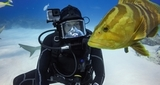 Водонепроницаемый бокс для HERO5 Black (60м) GoPro Super Suit (AADIV-001) под водой