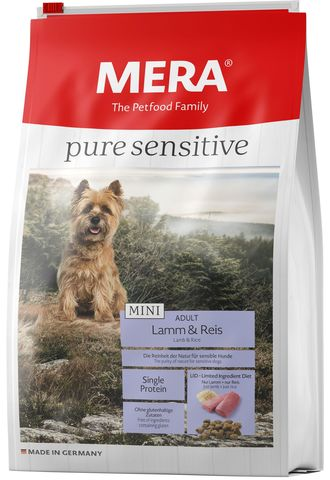 Mera Pure Sensitive MINI Adult Lamm&Reis