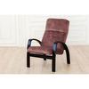 Кресло «Ладога-2», ткань премьер 10, каркас венге структура, GREENTREE