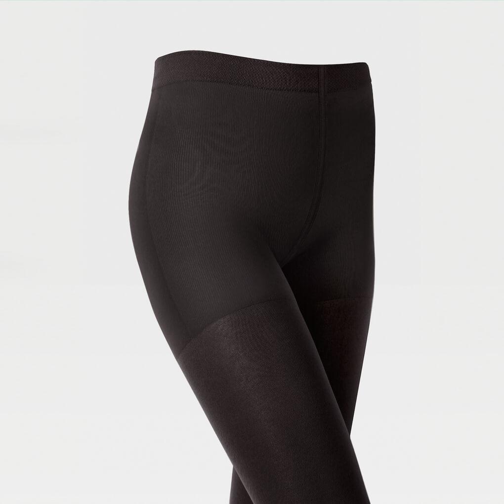 Компрессионные колготки (2 класс, уплотненные), цвет черный