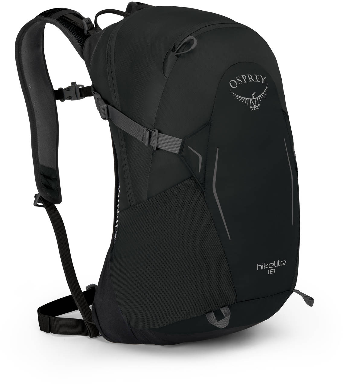 Туристические рюкзаки Рюкзак туристический Osprey Hikelite 18 Black HIkelite18_S18_Side_Black_web.jpg