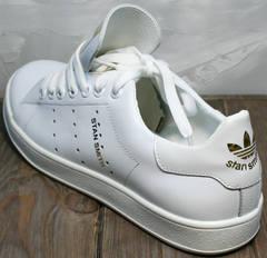 Женские спортивные туфли Adidas Stan Smith White-R A14w15wg