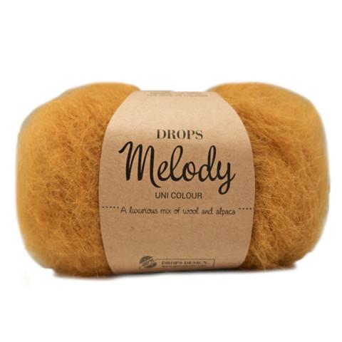 Пряжа Drops Melody 18 горчица