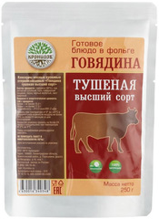 Туристическая еда Кронидов (Говядина тушеная высш. сорт 250 гр.)