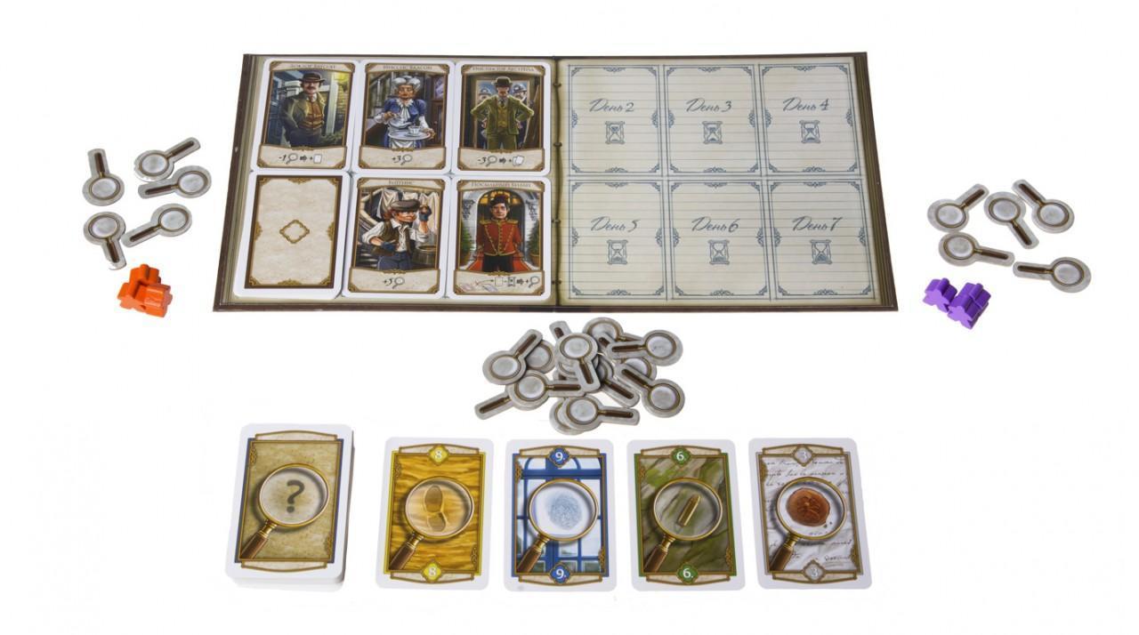 Настольная игра Холмс: Шерлок и Майкрофт