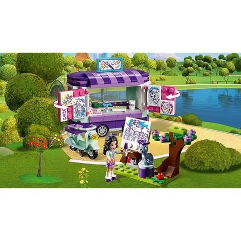 LEGO Friends: Передвижная творческая мастерская Эммы 41332 — Emma's Art Stand — Лего Френдз Друзья Подружки