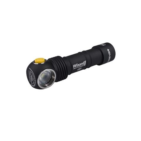 Налобный фонарь Armytek Wizard Pro Magnet USB XHP50 v3, холодный свет