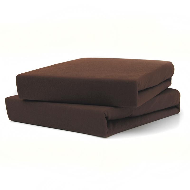 TUTTI FRUTTI шоколад - Полутораспальная простыня на резинке