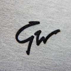 Женская укороченная толстовка Gorilla wear Pixley grey