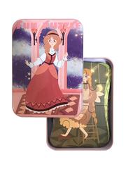 Развивающие пазлы в жестяной коробке Забавная головоломка FUN PUZZLE набор Сказки 39 элементов, 5 пазлов
