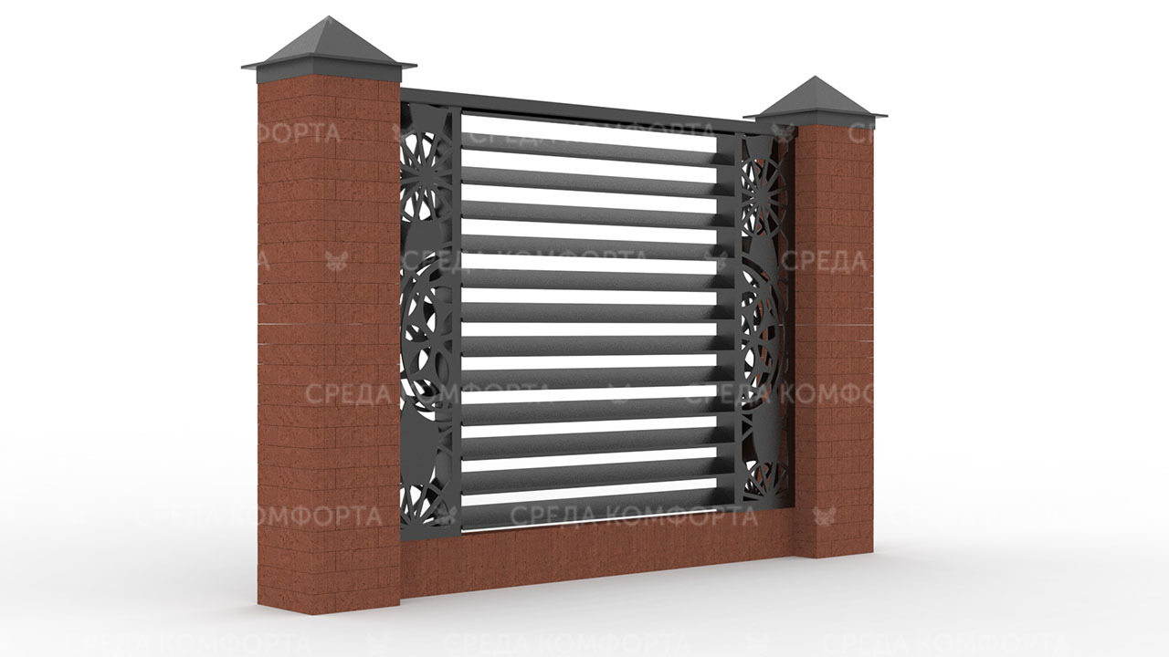 Забор жалюзи ZBR0127