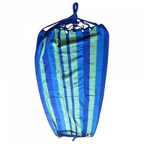 Гамак НТО2-0051 (А61) синий с зеленым