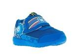 Кроссовки для мальчиков на липучках Фиксики, цвет синий. Изображение 5 из 5.