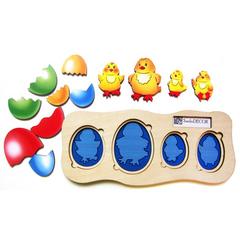 вкладыши Цыплята-ребята, Smile Decor П016