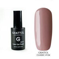Grattol, Гель-лак 134, Frappe, 9 мл