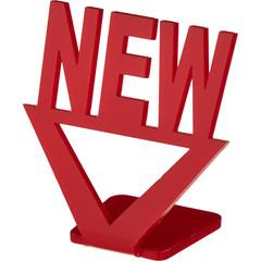 Подставка Attache Новый товар акриловая красная 70x70 мм (20 штук в упаковке)